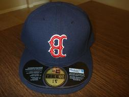 BOSTON RED SOX NEW ERA 59FIFTY ON FIELD GAME NAVY BLUE FITTE
