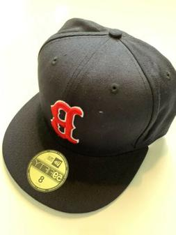 NEW ERA Boston Red Sox GAME 59Fifty Fitted Hat MLB Cap Size