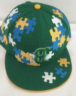 New Era Boston Red Sox Hat Green 59FIFTY Size 8 Large Fitted
