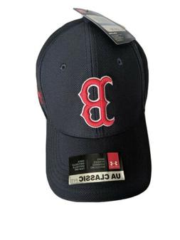 Boston Red Sox MLB Under Armour Men's Blitzing Adjustable Ca