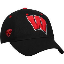 Brand New NCAA Memory Fit TOP OF THE WORLD WISCONSIN BADGERS
