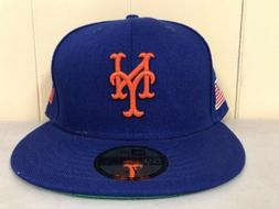 Brand New New Era Size 8 New York Mets Fitted Hat
