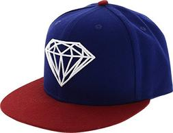 """Diamond Supply Co Brilliant Royal Blue Fitted Hat - 7"""""""