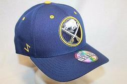 "Buffalo Sabres Hat Cap ""The Shoot Out Fitted Cap"" By Zephyr"