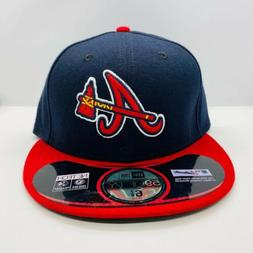 New Era Cap 59FIFTY Atlanta Braves Hat Fitted 5950 MLB Authe