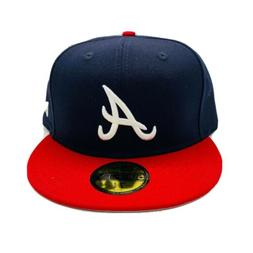 New Era Cap 59FIFTY Atlanta Braves Hat Fitted 5950 MLB Class