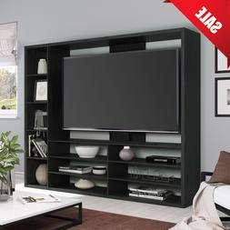 """Mainstays Entertainment Center for TVs up to 55"""" Black TV St"""