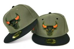 New Era Chicago Bulls Fitted hat Nike Air Max 95 Olive orang