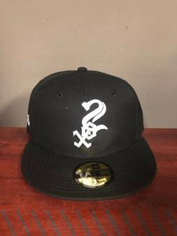 New Era CHICAGO WHITE SOX GAME 59Fifty Fitted Hat Black/Whit