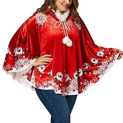 Respctful ♪☆ Christmas Tops for Women,Ladies Christmas S