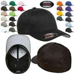 FLEXFIT Classic ORIGINAL 6-Panel Fitted Baseball Cap HAT S/M