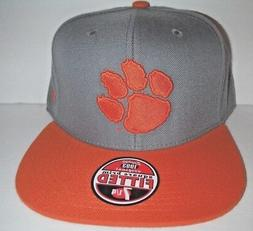 CLEMSON TIGERS NEW AUTHENTIC FITTED SIZE 7 1/4  HAT NCAA ZEP