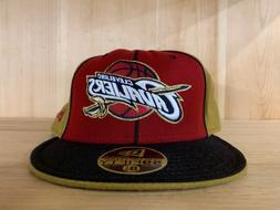 NEW ERA CLEVELAND CAVALIERS FITTED HAT CAP 59FIFTY BURGUNDY
