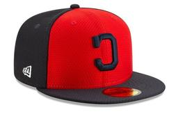 NEW ERA CLEVELAND INDIANS 59 FIFTY FITTED BATTING PRACTICE H