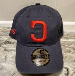 Cleveland Indians New Era 9Forty MLB Fitted Hat Dad Cap Blue