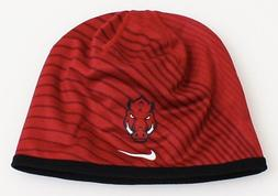 Nike Collegiate Dri Fit Crimson Arkansas Razorbacks Beanie M