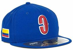 Colombia Men's New Era 59FIFTY World Baseball Classic Fitted