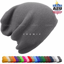 cuff beanie knit hat winter warm cap