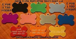 Custom Engraved Dog Tag Pet ID WITH FREE SHIPPING with free