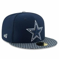 DALLAS COWBOYS New Era 59FIFTY ON FIELD Sideline FITTED CAP,