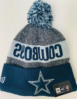 New Era Dallas Cowboys NFL On Field Sport Knit Fitted Cuffed