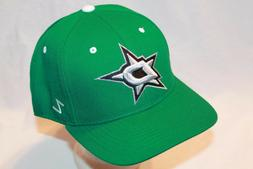"Dallas Stars Hat Cap ""The Shoot Out Fitted Cap"" by Zephyr NH"