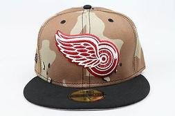 detroit red wings desert camo black red