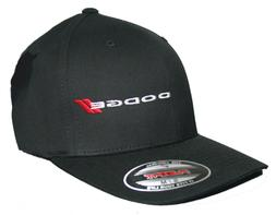 dodge hat cap fitted curved bill mopar