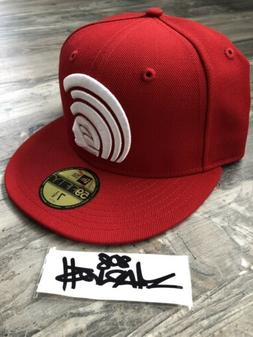 DS Fitted Hawaii RED MUA Hat 7 3/8 NOT Farmers Market Hawaii