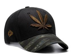 Embroidered POT/WEED Leaf Snapback Hats-Men,Women Hip Hop Fi