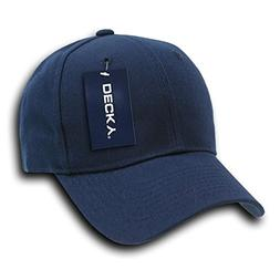 DECKY Fitted Cap, Navy, 7 5/8