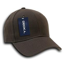 DECKY Fitted Cap, Brown, 7 3/8