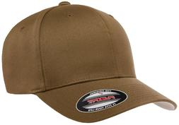 NEW Flexfit® Coyote Brown Fitted Hat or Adjustable BallCap