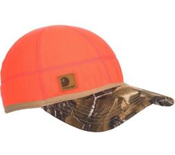 Carhartt Men's Force Griggs Fleece Visor Cap, Brite Orange,