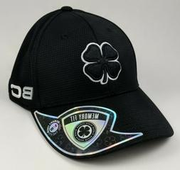 golf hat black s m fitted baseball