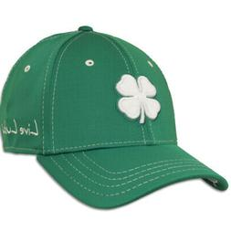 2016 Black Clover Premium Cap Golf Hat Mens White Clover/Kel