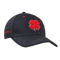 2016 Black Clover Premium Cap Golf Hat Mens Red Clover/Black