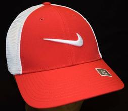 Nike Golf Legacy 91 Tour Mesh Fitted Golf Hat Cap 727031 Red