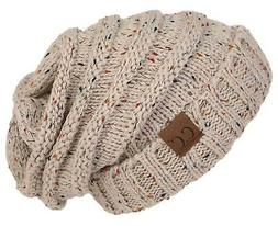 h 6100 2067 oversized slouchy beanie confetti