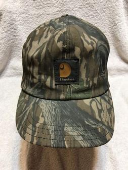 Carhartt Hat Camouflage Thermolite Insulated Duck Canvas Ear