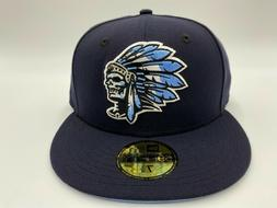 Hat Club Exclusive Navy Icy Blue UV Skull Chief 59Fifty Fitt