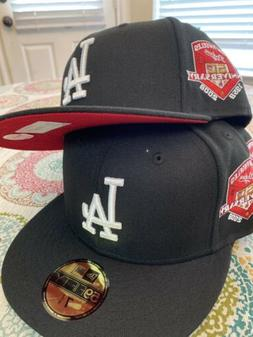 Hat Club Exclusive Red Bottom Los Angeles Dodgers Fitted Hat