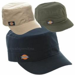 Dickies Hats Mens Fitted Hat Cadet Cap Curve Visor S/M or L/