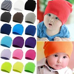 Hats Toddler New Unisex Baby For Boy Girl Kids Infant Solid