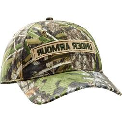 Under Armour HeatGear Camo Cap Synthetic Blend Mossy Oak Obs