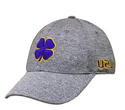 Black Clover Heather Purple Gold Heather LSU Premium Fitted 2425d485e08b