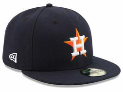 New Era Houston Astros HOME 59Fifty Fitted Hat  MLB Cap