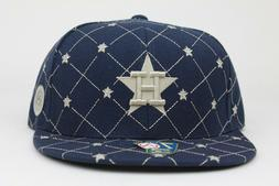 Houston Astros Navy Star American Needle Cooperstown Fitted