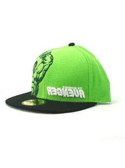 New Era Hulk 59fifty Custom Fitted Hat Size 7 1/2 Incredible
