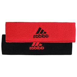 adidas Interval Reversible Headband, Hi-Res Red/Black, One S